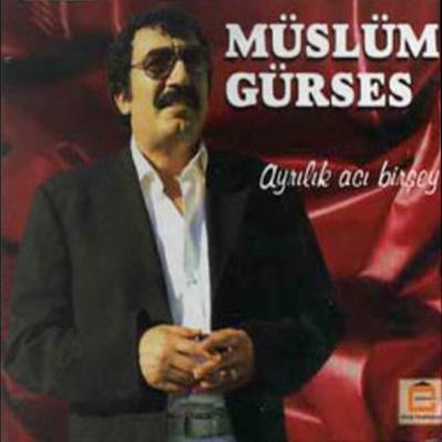 Müslüm Gürse Ayılık Acı Birşey Albüm Kapağı
